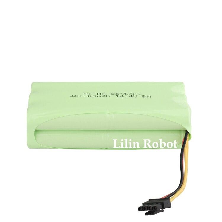 (Pour KK8) Batterie pour Aspirateur Robot De Nettoyage, DC14.4V, 1500 mAh, Ni-MH, 1 pc/pack