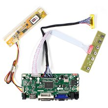 "HD MI VGA DVI Audio LCD kontrol paneli için 17 ""B170PW03 B170PW06 LP171WP4 LTN170X2 1440x900 LCD ekran"
