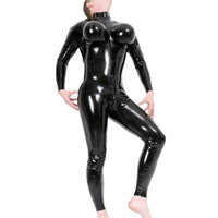 Для мужчин Экзотические костюмы пикантные черные сапоги фетиш латекс Zentai Корректирующие боди для женщин с надувной грудь Резиновые чулки п