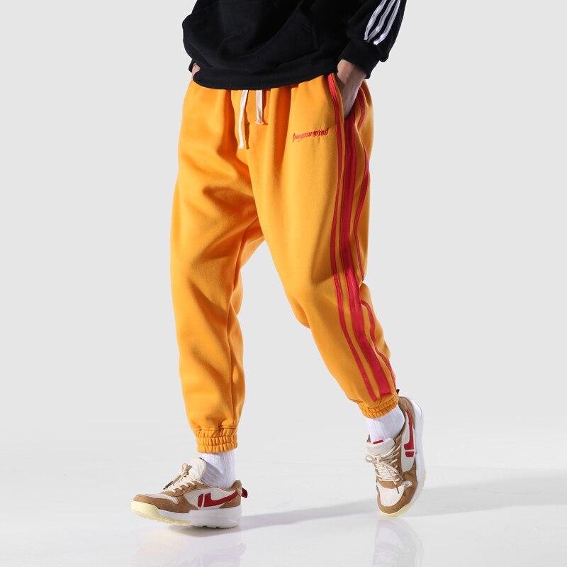 Haute qualité coton pantalons de survêtement hommes Streetwear Hip Hop décontracté pantalon lâche mâle 5 couleurs Harem pantalon-in Pantalons de survêtement from Vêtements homme on AliExpress - 11.11_Double 11_Singles' Day 1