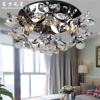 Kristal plafond licht LED lamp bloem kristal indoor verlichting woonkamer slaapkamer eetkamer decoratie lustre