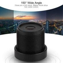 "2.1mm Camera Lens 150 Wide Angle M12*0.5 IP Camera Lens CCTV Lens for 1/3"" & 1/4"" CCD Chips"