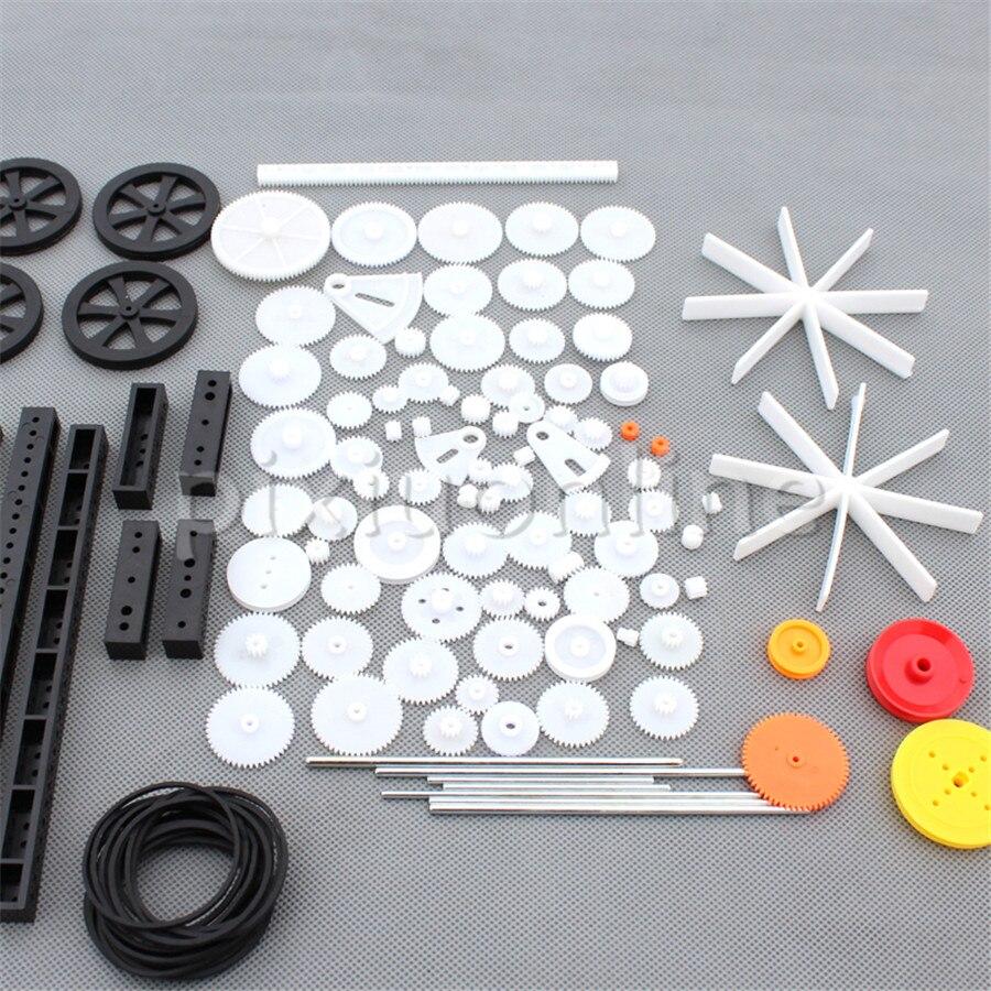 1 Упак. J620b 92 различные ремень шестерни колеса сектора шестерни Червячные шестерни s DIY игрушка машина