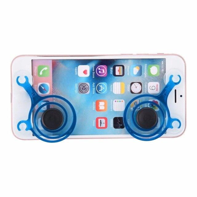 a66bae8b6f 2 pçs/set dual analógico Mini Joypad Joystick Smartphones toque de telefone  celular telefone celular