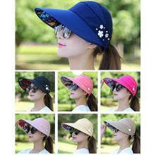 Женская летняя повседневная универсальная дышащая шляпа с защитой от ультрафиолета в Корейском стиле с защитой от солнца и светильник