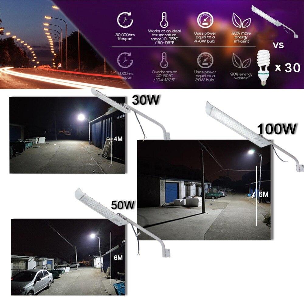 SKD Led Street Light Integrated Light Board DOB Outdoor Parking Lot Wall Lamp Industrial Garden Square Highway Farola Road in Street Lights from Lights Lighting