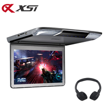 Ceiling-Monitor Car-Flip-Down Video-Player Roof-Mount 1920x1080p-Screen XST Hdmi-Port