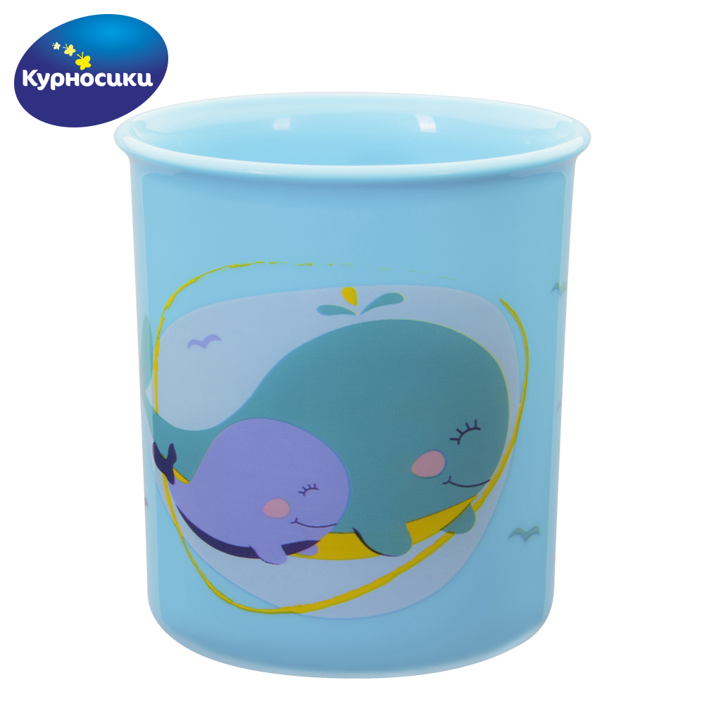 Cups KURNOSIKI 17119 Cup mug for children drawing