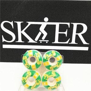 Image 3 - USA BRAND Hot Skateboard Wheels 98A SOFTLINE/101A SOFTLINE PU Skate Wheels 50/51/52/53mm Skateboarding Wheel