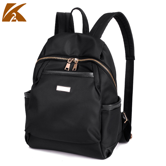 korean style double shoulder bags ladies back pack waterproof ...