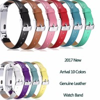 High Quality Leather Watchbands Replacement Strap For Fitbit Alta Tracker S L Size Bracelet
