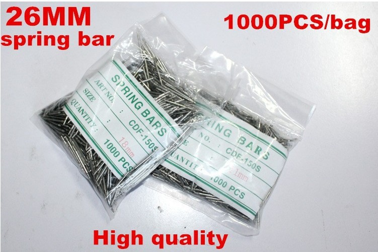 Wholesale 1000PCS / bag High quality watch repair tools & kits 26MM spring bar watch repair parts