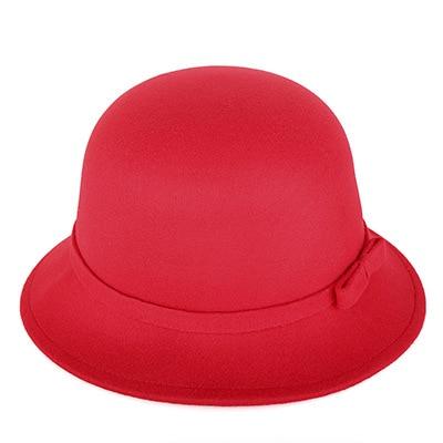[DINGDNSHOW] 2019 Moda Fedora Şapkalar Vintage Yün Yetişkin Keçe - Elbise aksesuarları - Fotoğraf 6