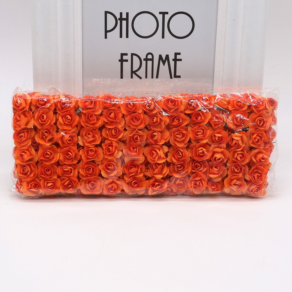 144pcs-1-5cm-Mini-Artificial-Mini-Paper-Rose-Bouquet-DIY-Wreath-Scrapbook-Wedding-Ornament-Artificial-Rose(8)