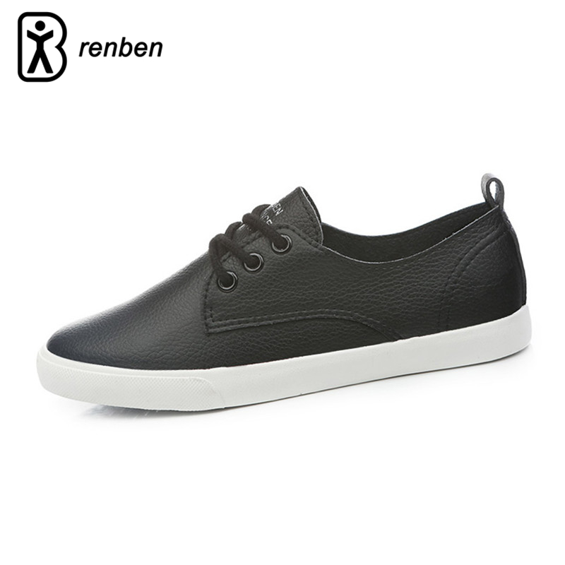 RenBen 2018 Leather Women Shoes Casual Fashion Shoes For ...