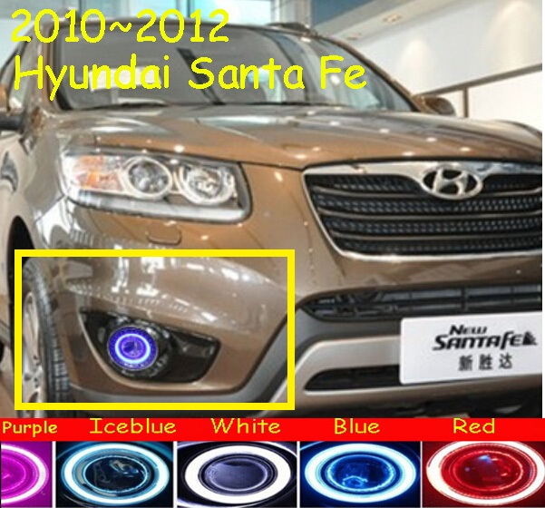 2010~2012 Santa Fe fog light,Tucson,Free ship!halogen,Santa Fe headlight,accent,solaris,sonata,IX45,IX35;Santa Fe day lamp