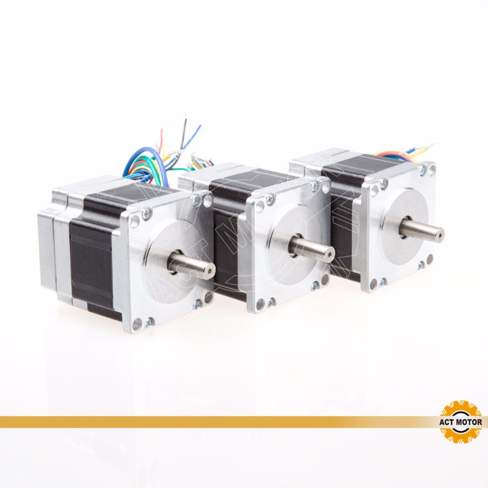 Hot sales! ACT MOTOR 3PCS 57BLF01 63W 24V 3000RPM High speed Brushless DC Motor CarHot sales! ACT MOTOR 3PCS 57BLF01 63W 24V 3000RPM High speed Brushless DC Motor Car