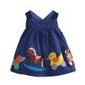 Nuevos Vestidos de Niña de Niño Modelo Animal Franela Elegante Vestidos Para Las Niñas De Preescolar Infantil Lindo Chaleco 6M-5 Años