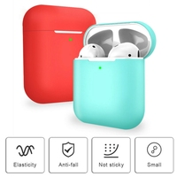 For AirPods 2 Earphone Silicone Protective Cover Headset Case Accessories Protective Skin Case