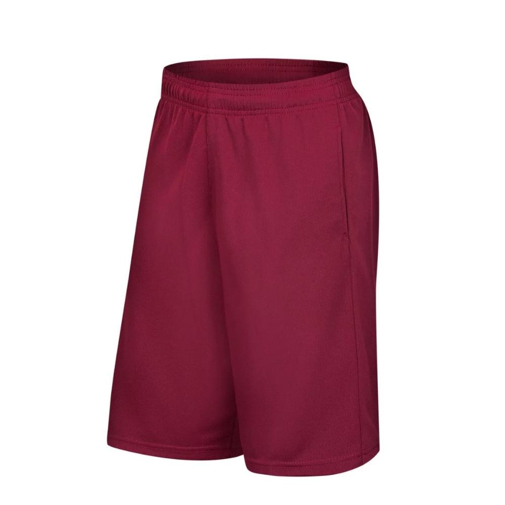 Mens basketball shorts on sale free shipping - Free Shipping Excellent Best Quality Men S Basketball Shorts Purity Crimson Color Loose Basketball Sports Run Shorts