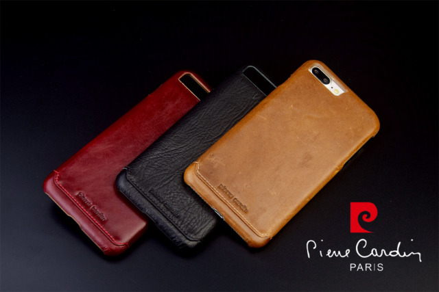Pierre Cardin Luxury Genuine Leather Case For Apple Iphone