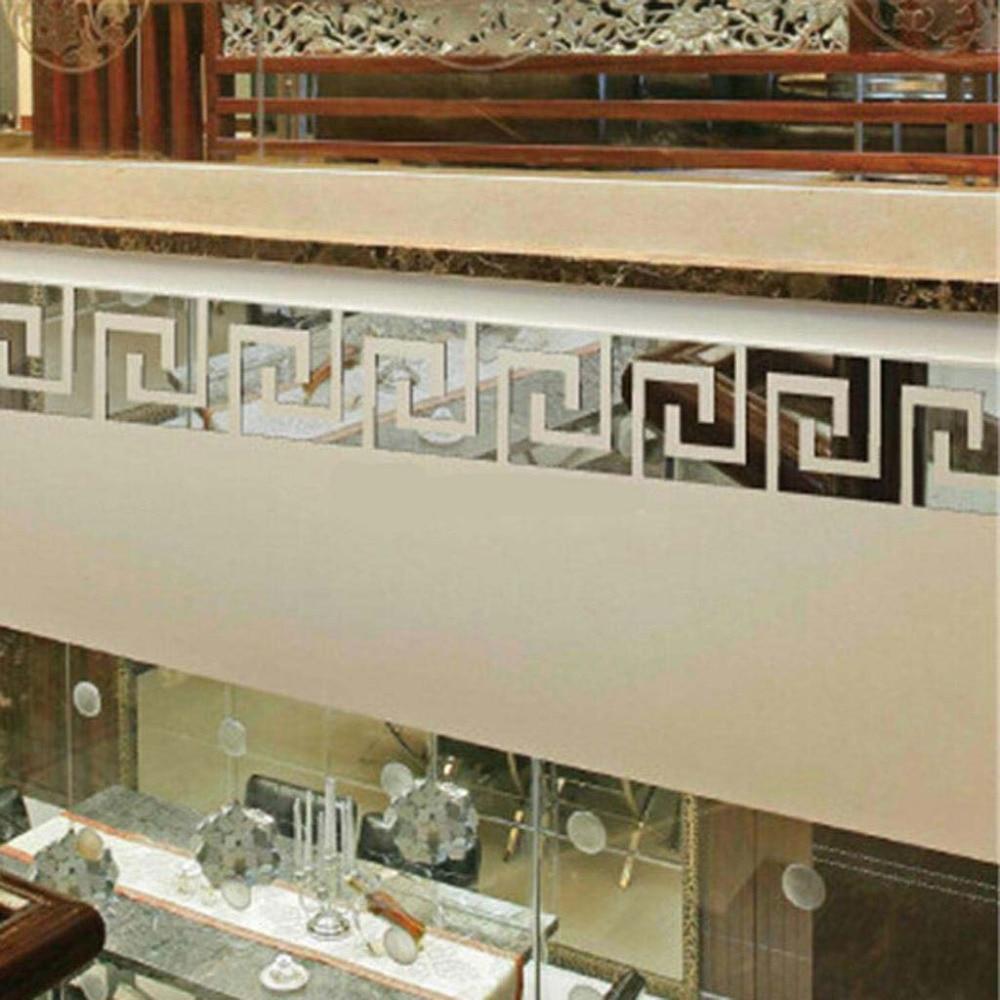 Geometric Waist Wall Sticker