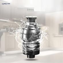 DM480 alimentos triturador de basura trituradora trituradores de residuos molinillo de acero inoxidable aparatos de cocina tecnología DC motor 550 W Cocina