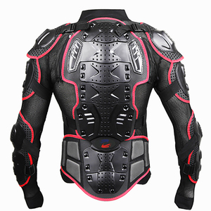 Image 4 - upbike Motorcycle Full body armor Protection jackets Motocross racing clothing suit Moto Riding protectors turtle Jackets S 4XL