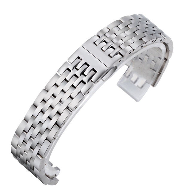 Shi Shi Tian Su Li Rock steel band 1853 strap male steel band T41 stainless steel strap accessories watch chain 19mm