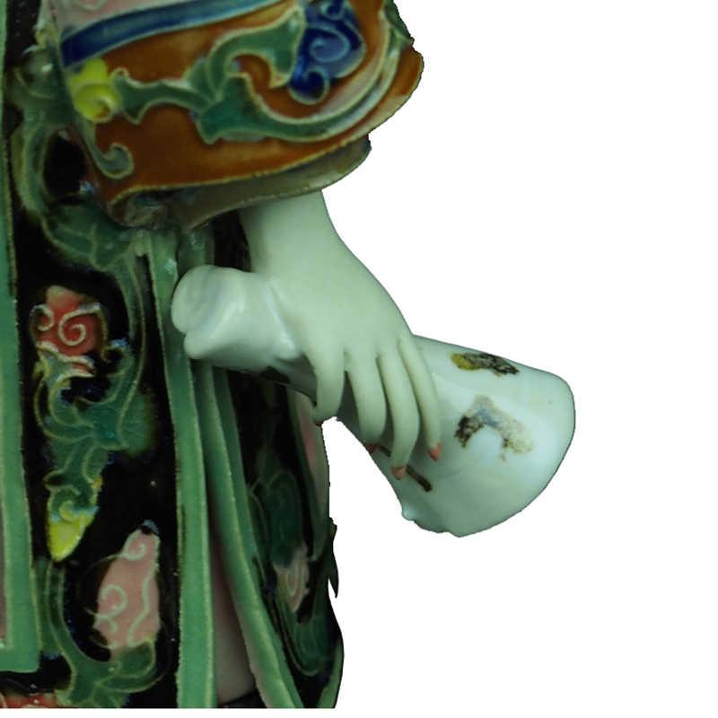 โบราณที่สวยงาม Angel Figurines สะสมวัฒนธรรมจีนหญิงเครื่องลายครามตุ๊กตาประติมากรรมรูปปั้นวินเทจ
