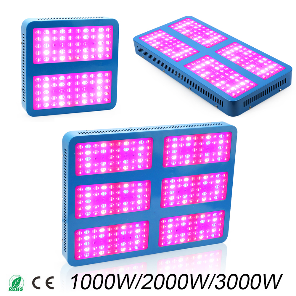 LED Grow light 1000W 2000W 3000W Full Spectrum grow lamps For Medical Flower Plants Vegetative indoor greenhouse grow tent купить