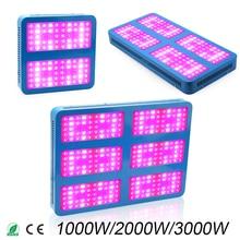 LED Crece la luz 1000 W 2000 W 3000 W crece luces de Espectro Completo Para Plantas de Flores Médicas Vegetativo de invernadero de interior crece la tienda