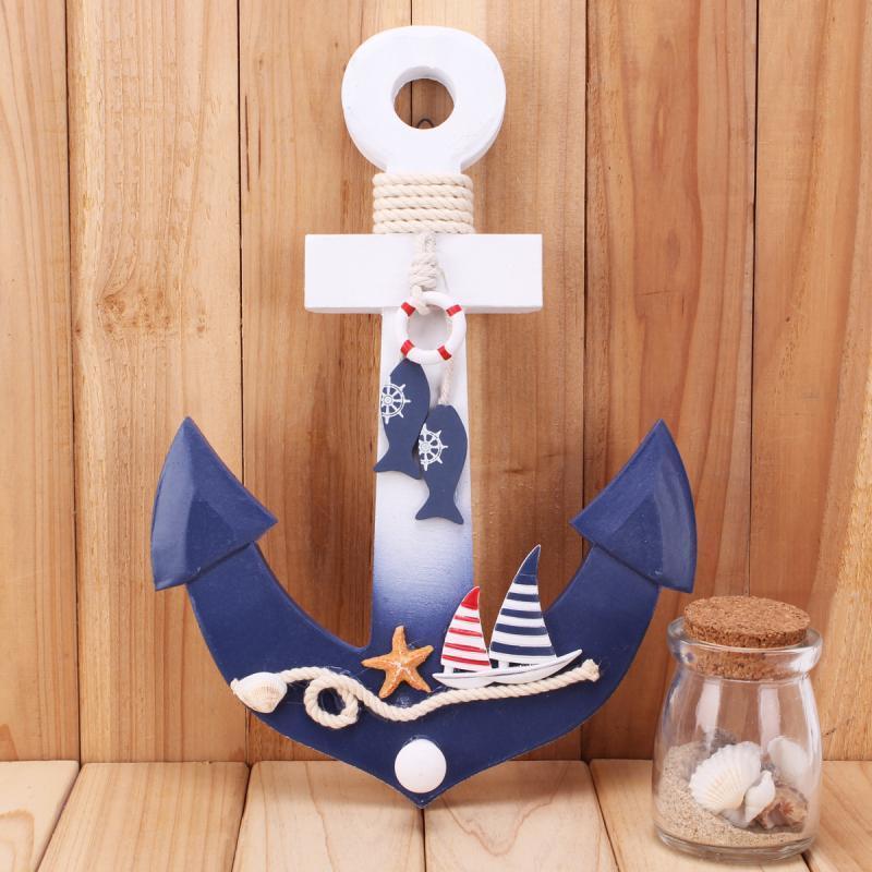 Nautical Event Decor: Modern Nautical Decor Wooden Ship Boat Anchor Hook Party