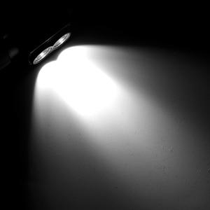 Image 5 - BORUiT D25 podwójny XM L2 LED Mini reflektor 6 Mode 5000lm potężny reflektor akumulator 18650 Head latarka kempingowa polowanie