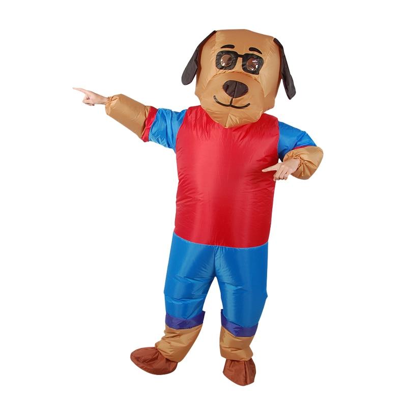 2018 neue aufblasbare Hund Kostüm Cosplay für Männer und Frauen - Kostüme