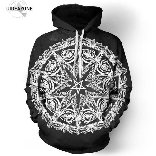 Pentagram Mandala Hoodie Hoodies Men Women Autumn Winter Pullover Hooded  Sweatshirt 2018 Sportswear Tracksuit 3D Clothing S-5XL 7aee283be39a