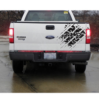 car sticker 1PC dirty tire 4wd off road graphic Vinyl car accessories decals for 4x4 truck rear trunk pickup dbadges