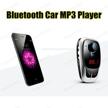 New Smartphone BluetoothMP3 Player Handsfree Car Kit Dual USB Charger FM Transmitter Handsfree with Micro SD/TF Card Reader
