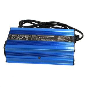 Image 5 - Carregador inteligente de bateria de lítio, 71.4v 2a, 17s, 60v, 20ah, para bicicleta elétrica, scooter para bicicleta dc110 220v saída 71.4v 2a volt