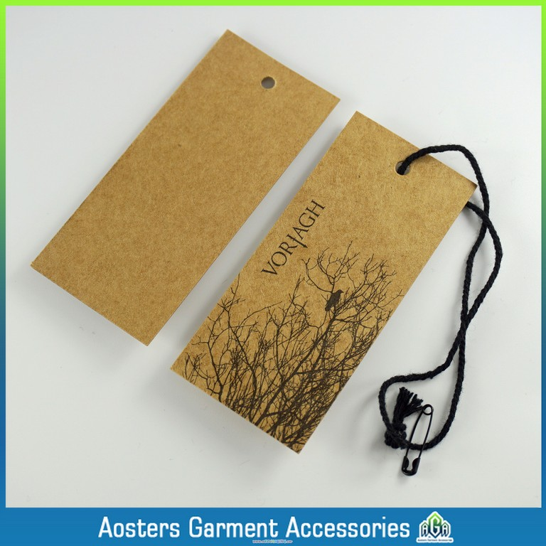 a3a16f8c503 US $59.0  fashion design custom design own clothing labels eco friendly  paper hang tag wholesale custom-in Garment Tags from Home & Garden on ...