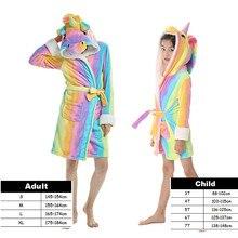 Kigurumi Kids Adult Anime Cosplay Pajamas Bathrobe Cartoon Rainbow Unicornio Panda Pyjamas Robes Fancy Sexy Sleepwear Costumes