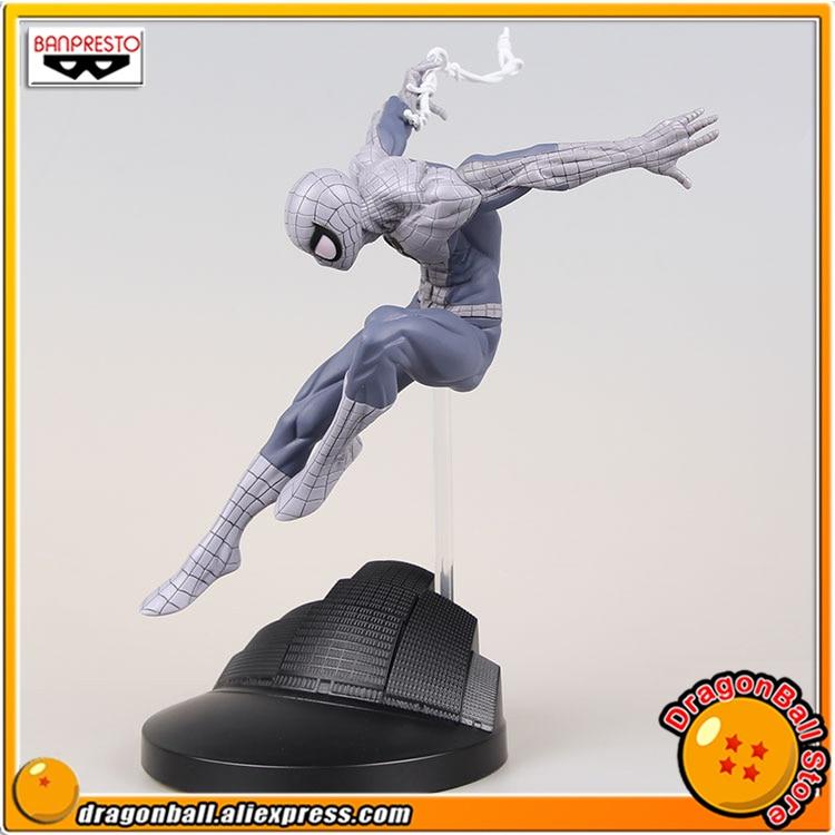 Original Banpresto Creator x Creator Collection Figure - Spider Man (Special Color Ver.) spiderman creator x creator the amazing spider man pvc figure collectible model toy