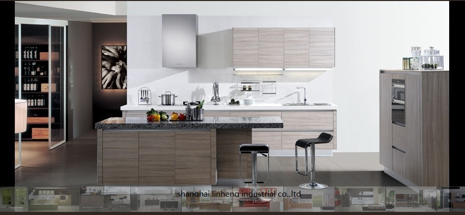 melamine/mfc kitchen cabinets(LH-ME013)melamine/mfc kitchen cabinets(LH-ME013)