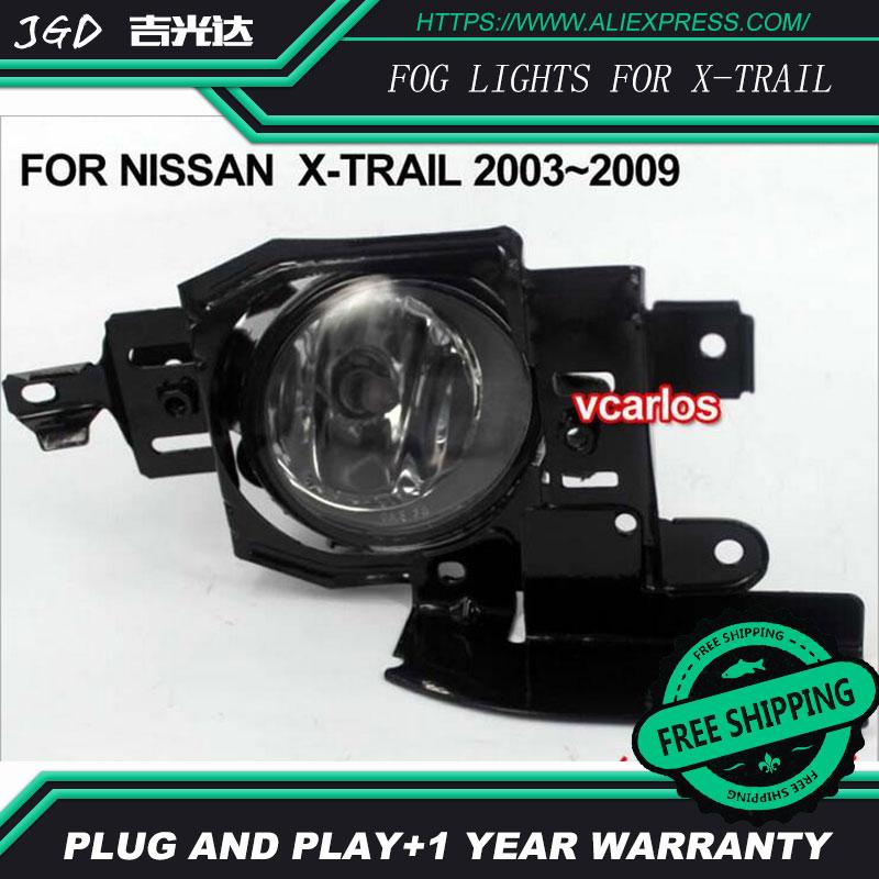 Phare antibrouillard halogène 2 pièces/paire pour Nissan X-TRAIL 2003-2009 phare antibrouillard halogène haute puissance
