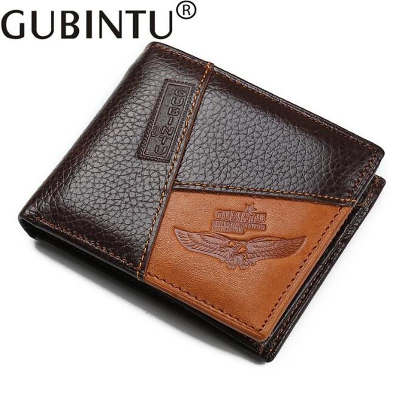 Famous Luxury Brand Genuine Leather Men