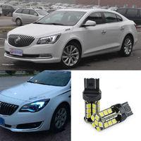 2pcs Advanced LED Width Lamps Car Wedge Warning Light Bulb For Buick LaCROSSE