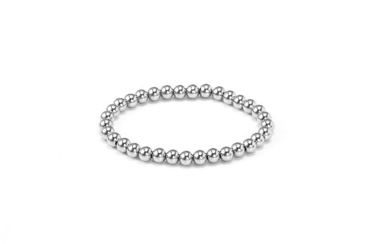 Bracelooty Fashion bracciale in acciaio inossidabile con un sacco di piccole palline due stili availble per le ragazze o ragazzi