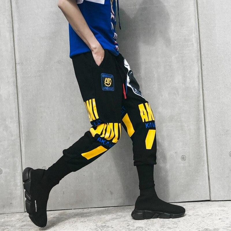 De Summercotton Hombre Estilo Streetwear Hip Sportpants Moda Jogger hop Sudor Holgura Pantalones BqrB5w