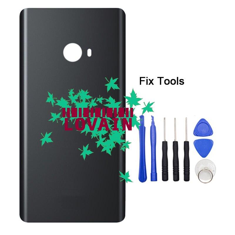 Lovain 1 шт. черный оригинальные для Xiaomi note2 Примечание 2 задняя Батарея крышка Стекло Корпус задняя дверь с клей + Инструменты