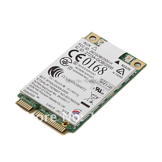 Gobi2000 UN2420 531993-001 HSPA/UMTS EDGE/GPRS/GSM EV-DO/CDMA 3G WWAN Sem Fio cartão Para HP 8440 p 8530 p 6530b 6535b 6730b 6735b